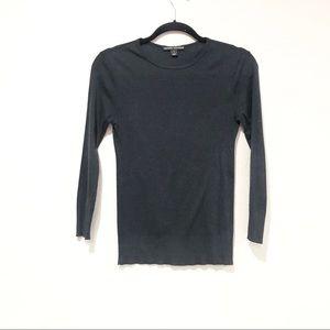 Ralph Lauren 3/4 Sleeve Cotton Lightweight Sweater